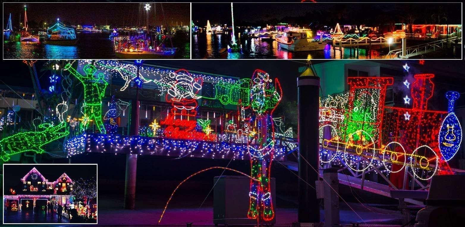 CHRISTMAS LIGHTS CRUISE on CRUSADER 1