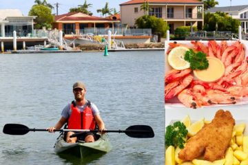 Kayak Safari with Seafood - Sunshine Coast Afloat